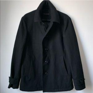 [uniqlo] single breasted pea coat